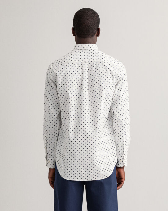 Regular Fit Pinpoint Oxford-overhemd