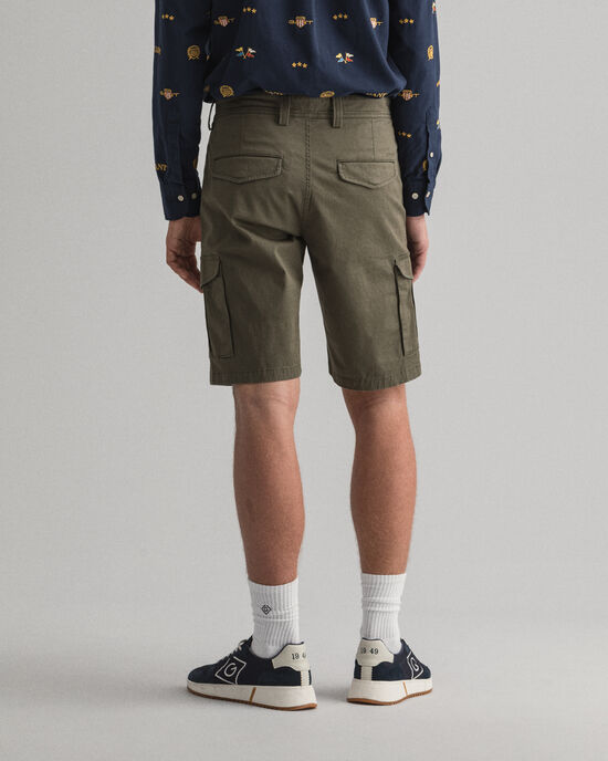Relaxed Fit utility-short van keperstof