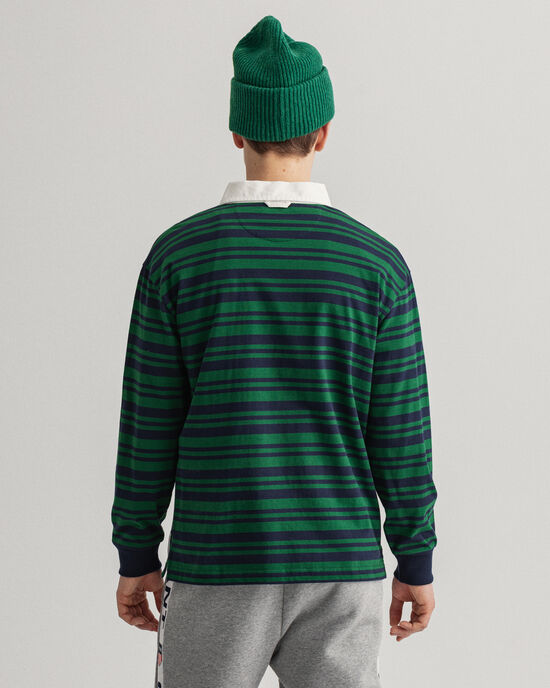 Relaxed Fit World Crest Heavy Rugger